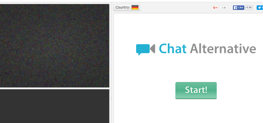ChatAlternative - sites like Omegle and Chatroulette Alternatives