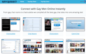 GayConnect - sites like Omegle and Chatroulette Alternatives